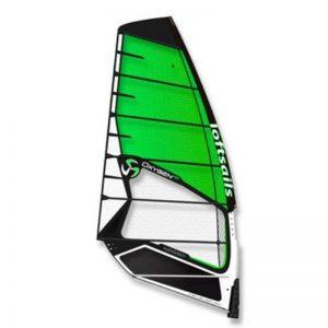 Vela de windsurf oxygen 2021 green