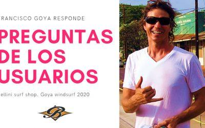 FRANCISCO GOYA RESPONDE. ENTREVISTA 2020 | 3ª PARTE: PREGUNTAS USUARIOS
