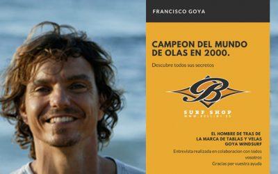 FRANCISCO GOYA RESPONDE. ENTREVISTA 2020 |1ª PARTE: TABLAS