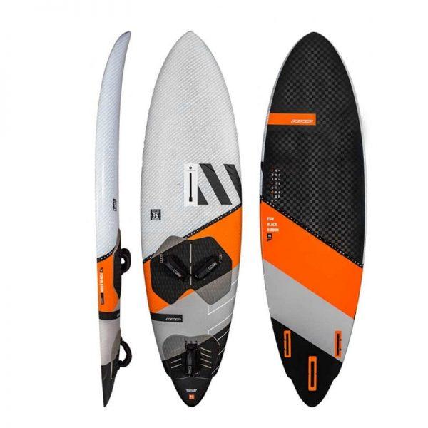 Tabla de windsurf RRD Freewave Black 2021 1
