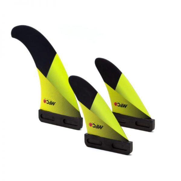 Aleta para windsurf MFC VF Tri fin slot box set 2