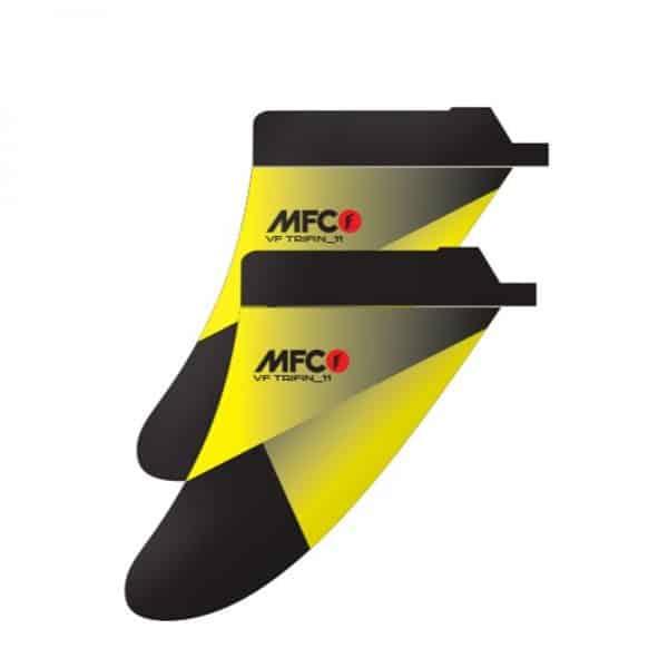 Aleta para windsurf MFC VF Tri fin usat box side