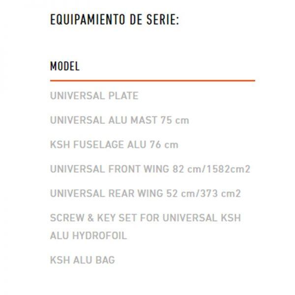 Foil RRD KHS universal 20 specs