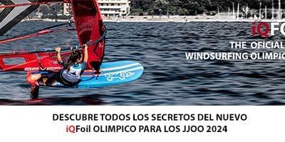IQFOIL. SET OFICIAL DE WINDFOIL PARA LOS JJOO 2024