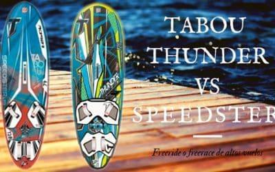 TABOU THUNDER vs SPEEDSTER 2015