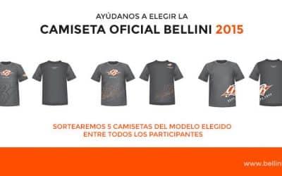 Ayúdanos a elegir la Camiseta Bellini Team 2015