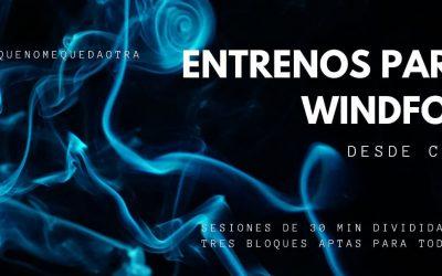 ENTRENAMIENTO PARA WINDSURF. HIT 2. ESPECIAL COVID-19