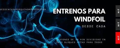 EJERCICIOS PARA WINDSURF DURANTE EL COVID-19. HIT 3