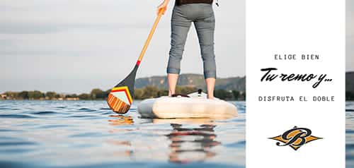 Remos para stand up paddle