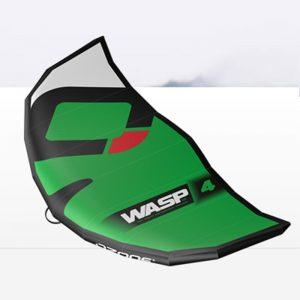Wing sail ozone wasp green