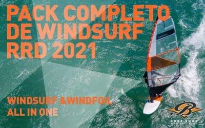 Aprender y evolucionar. Equipos completos de windsurf