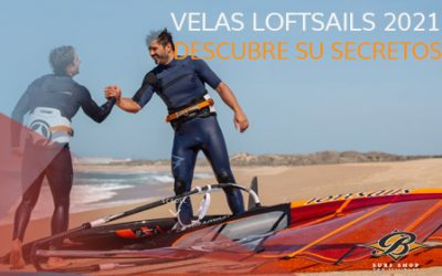 Colección velas Loftsails 2021. Innovación