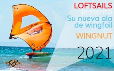 Loftsails se lanza al wing con el nuevo Wingnuts