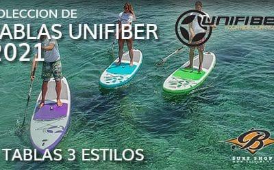 Unifiber ISUP. 3 tablas para 3 estilos. Descubre el tuyo.